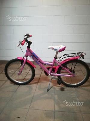 Bicicletta bambina rosa