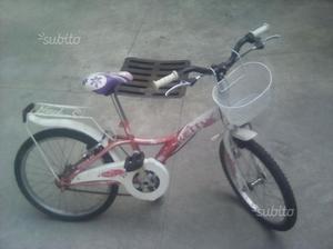 Bicicletta x bambina completa