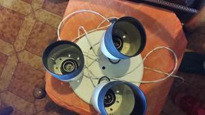lampadario a faretti anni 70