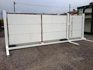 Cancello e cancelletto in acciaio inox e alluminio