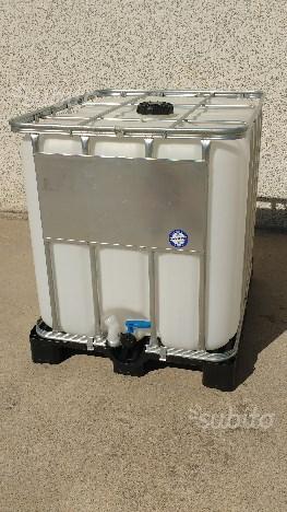 Cisterne Con Gabbia Metallica.Cisterna Cubo Posot Class