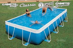 Piscina fuoriterra laghetto mod alessandria posot class for Riparare piscina