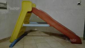 Vendo piscina rigida con scivolo posot class for Scivolo chicco usato
