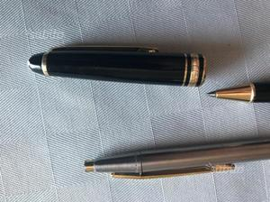 2 penne a sfera montblanc vintage