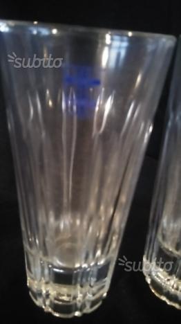 4 Bicchieri Bianco Sarti anni 70