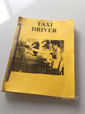 Copione originale Taxi Driver