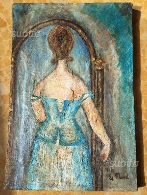 Edouard Manet, dipinto copia olio su tela