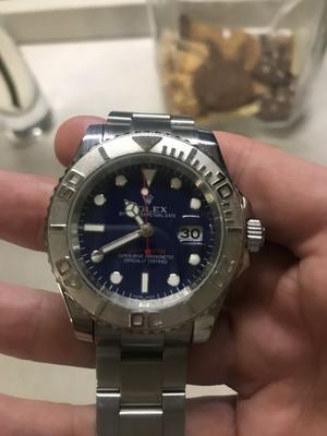 Orologio automatico blue dial uomo