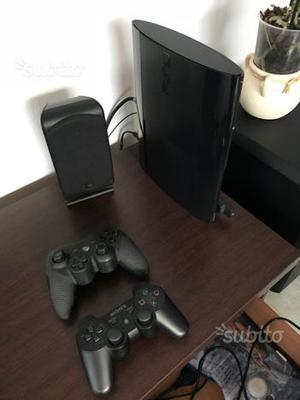 Sony ps3 PlayStation 3 ultra slim 2 joypads