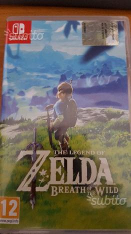 The legend of Zelda - Breath of the wild - Switch