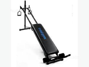 Panca allenamento Total Gym + panca addominali