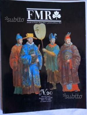 RIVISTA FMR. Dal numero 1 al numero 9 anno