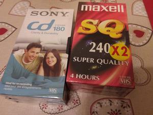 4 Cassette VHS Vergini