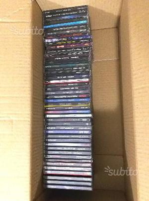 50 cd metal originali usati