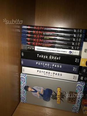 Anime film e serie tv blu ray