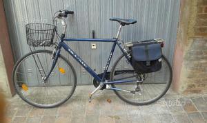 Bicicletta city bike Uomo con marce