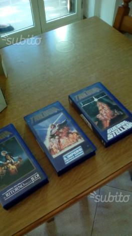 Film VHS Guerre stellari