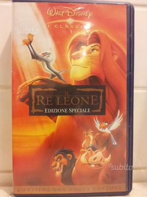 Il Re Leone - Walt Disney - VHS