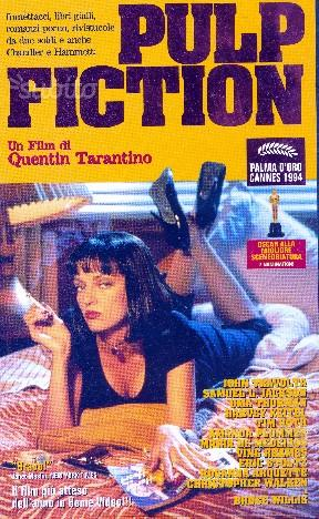 Pulp fiction vhs originale 146 min
