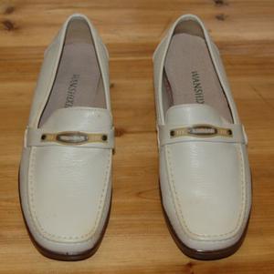 Scarpe da donna, numero 39, color panna