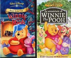 Winnie the pooh n.2 vhs originali