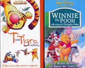 Winnie the pooh n.2 vhs originali walt disney