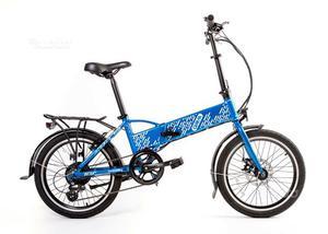 Bici elettrica pieghevole 20quot occasione posot class for Bici pieghevole elettrica usata