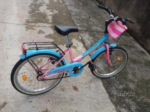 Bicicletta da bambina misura 24