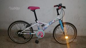 Bicicletta per bambina 8/10 anni