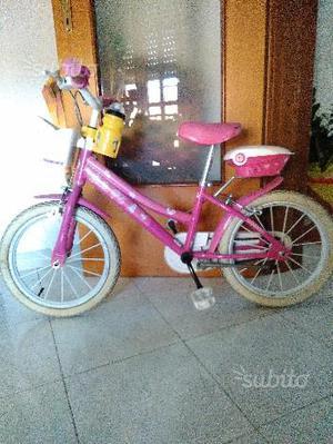 "Bicicletta Barbie da bambina 15"""