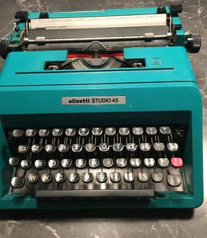 MACCHINA per scrivere Olivetti STUDIO 45 typewriter vintage