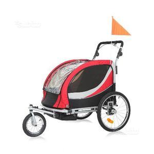 Rimorchio per trasporto Bambini jogger mod. Peter
