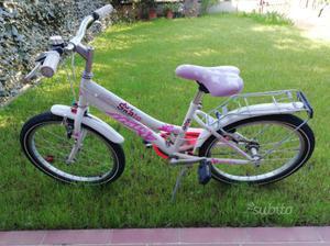 Bicicletta bambina misura 20 ATALA