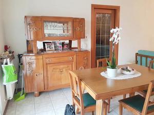 sala da pranzo, armadio, cassettiera in massello di rovere