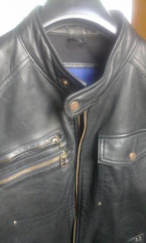 huge discount 84975 c56b5 Giubbotto in pelle nera vintage uomo | Posot Class