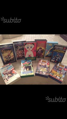 Lotto VHS Vintage Cartoni Animati/Manga