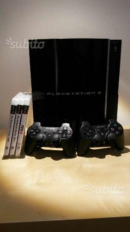 PS3 + 2 controller e giochi