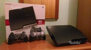 PS3 Slim + 2 Joypad e 5 Giochi