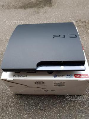 Play station 3 slim 120 gb usata
