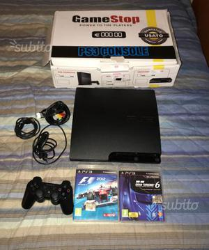 Ps3 Slim 320 gb + 2 giochi + 1 joystick