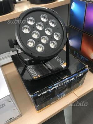 Slim par led RGBWAUV 12x12 watt