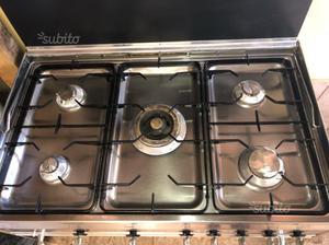 Cucina 5 Fuochi Acciaio Posot Class
