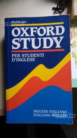 Dizionario inglese Oxford