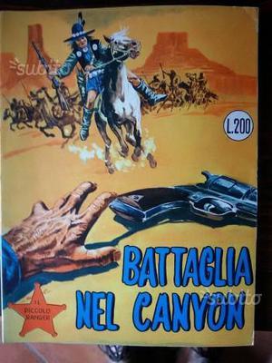 Il piccolo ranger battaglia nel canyon n 26