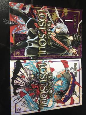 """Manga """"The devil's lost soul"""" volume 1 e 2"""