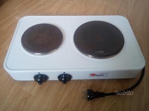 Cucina bompani 90x60 a gas2 piastre elettriche posot class - Piastre elettriche a induzione ...