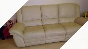 Divano relax in pelle chateau d39ax 3 posti posot class - Divano 2 posti chateau d ax ...