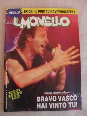 Il Monello riviste anni 80