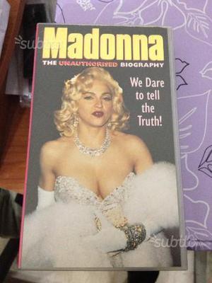 Madonna vhs originali e da collezione