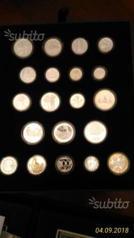 Monete collezione varie